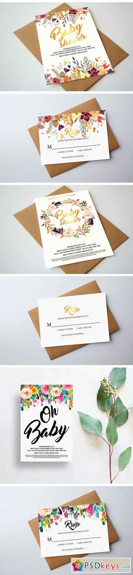 10 Invitation Cards Bundle  1320423