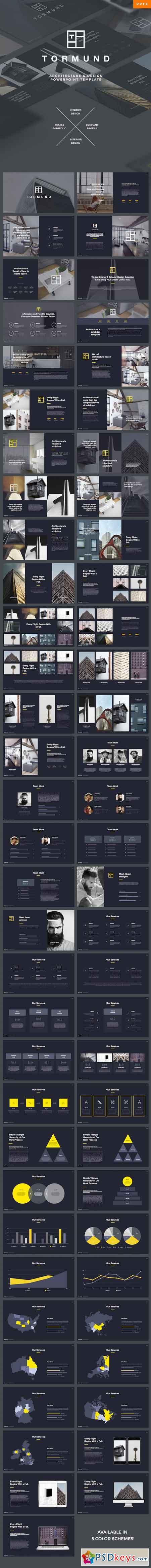 Thormund - Design & Portfolio Powerpoint Template 19387581