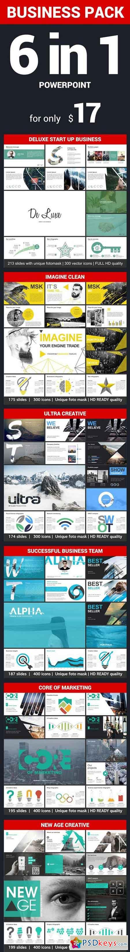 Business Pack Powerpoint 19301035