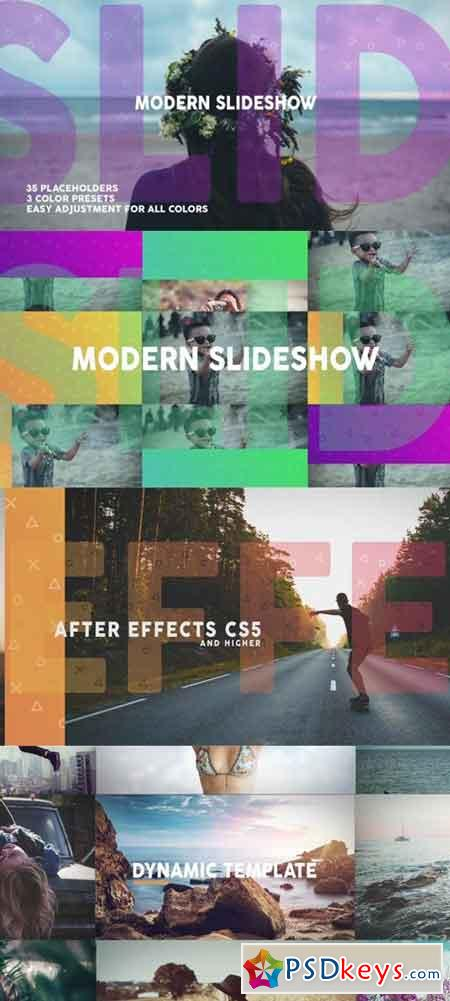 Modern Dynamic Slideshow 19572543 - After Effects Projects