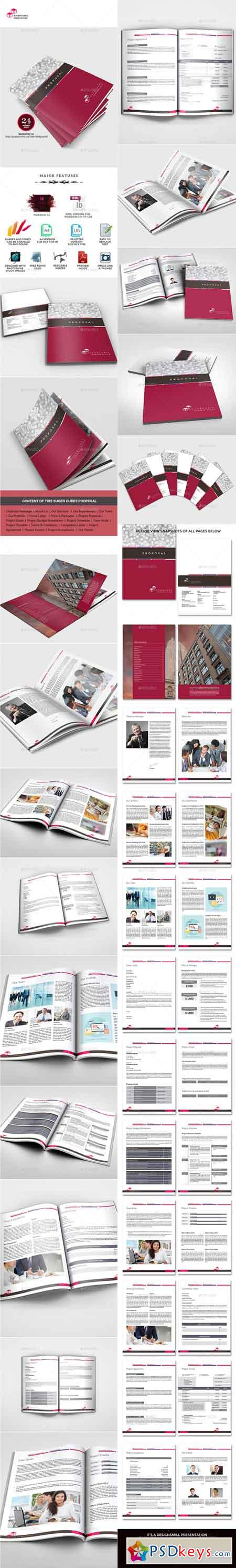 Sugercube InDesign Proposal Template for Business 9807983