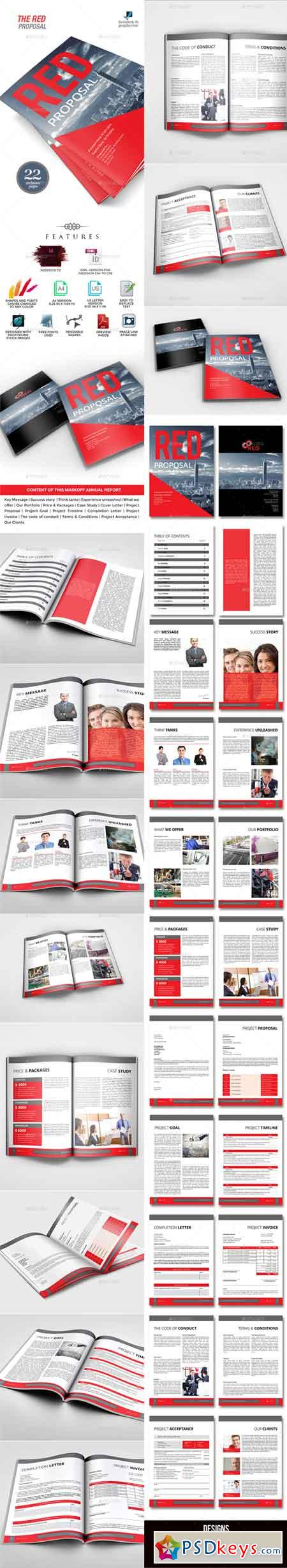 The Red Multipurpose Proposal Template 9552871
