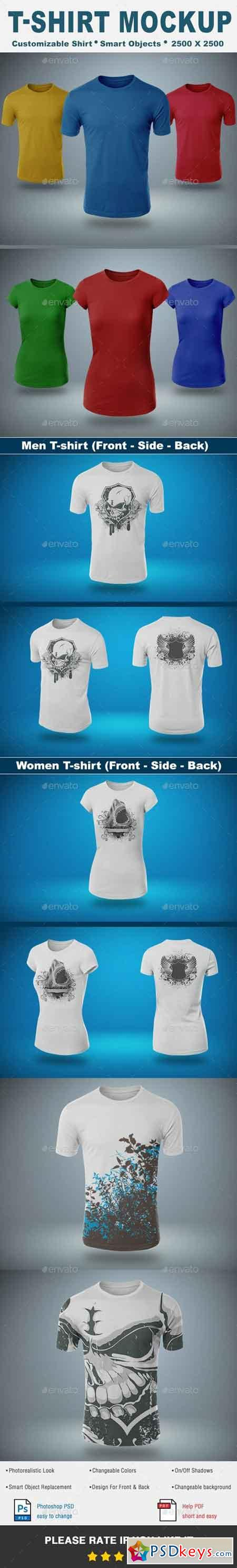 Design your own t shirt free download - T Shirt Mock Up Vol 1 19566585