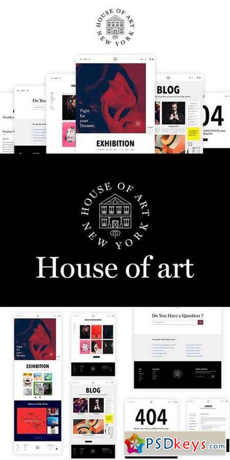 House of art - Web Design 1288876