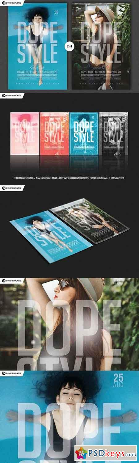 DOPE STYLE Flyer Template 1344127
