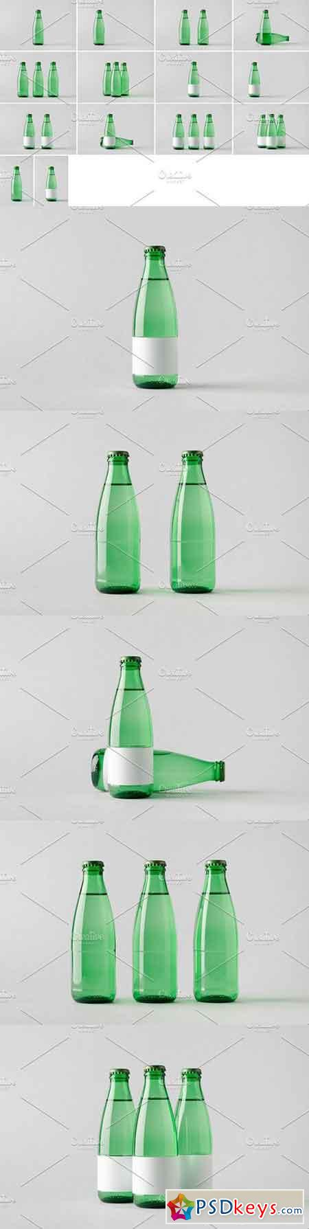Water Bottle Mock-Up Photo Bundle 4 1329023