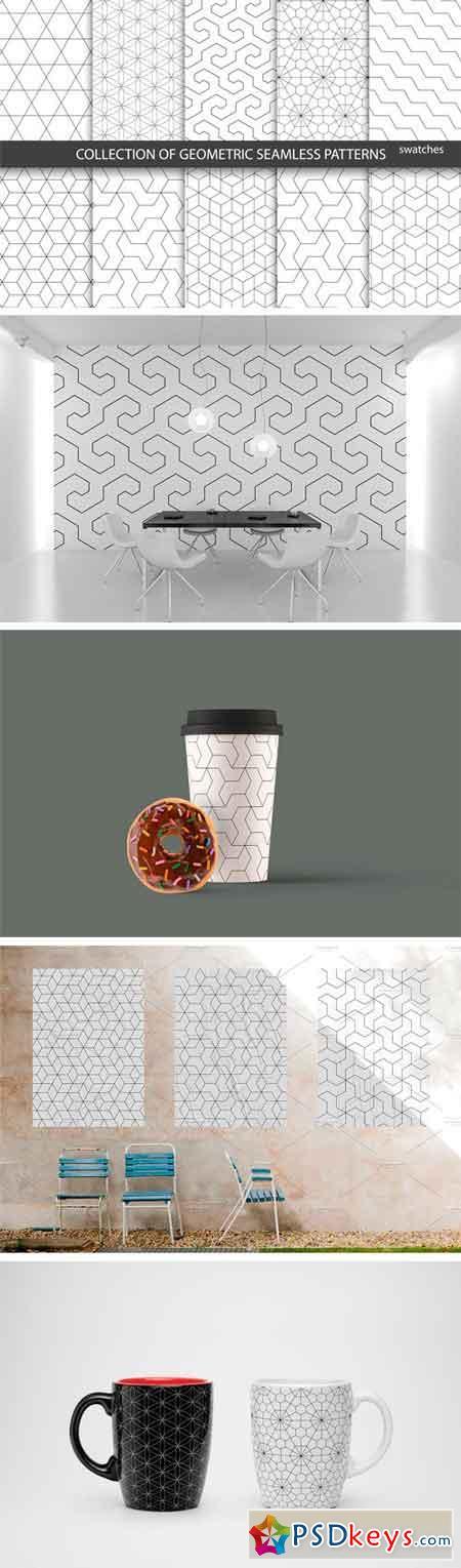 Ornamental Geometric Patterns 1340324