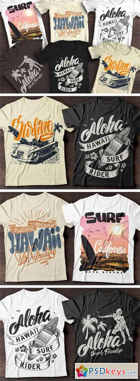 Summer Surf T-Shirt Print 1320662