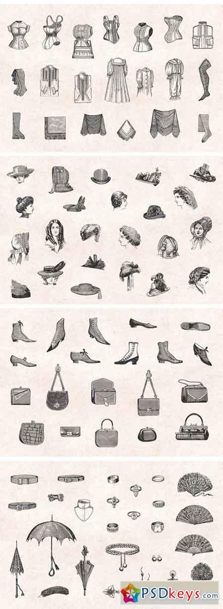 Ladies' Fashion Engravings 1298011