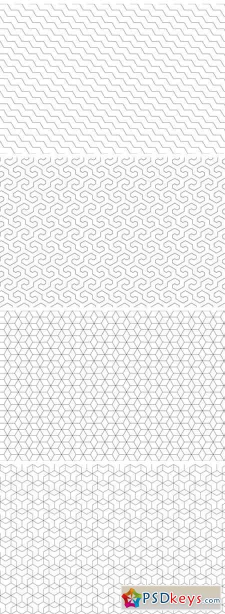 Ornamental Geometric Patterns 1340324