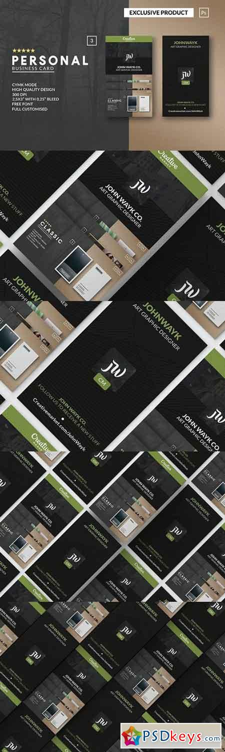 Personal Creativemarket BusinessCARD 1332294
