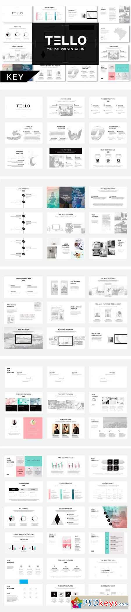 Tello Minimal Keynote Template 1321545