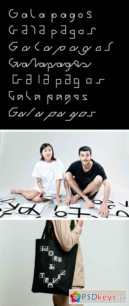 Galapagos Font Family