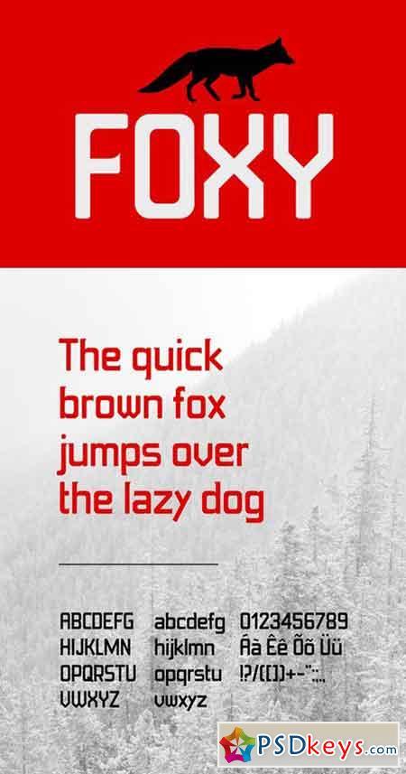 Foxy Font