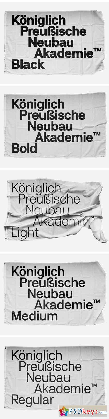 NB Akademie Font Family