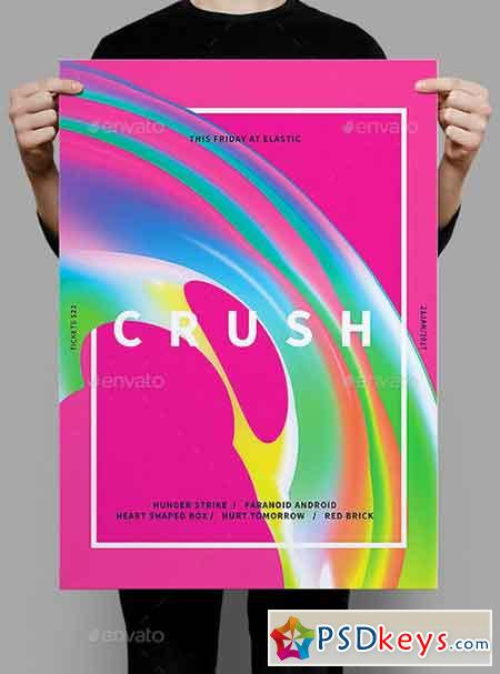 Crush Flyer Poster 19696431