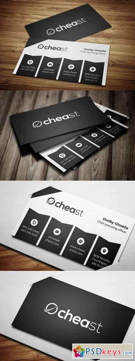 Modern Business Card 5 844943