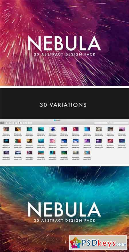Nebula - 30 Abstract Design Pack 1339750