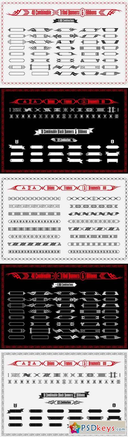 Tribal Banners & Frames 1341636