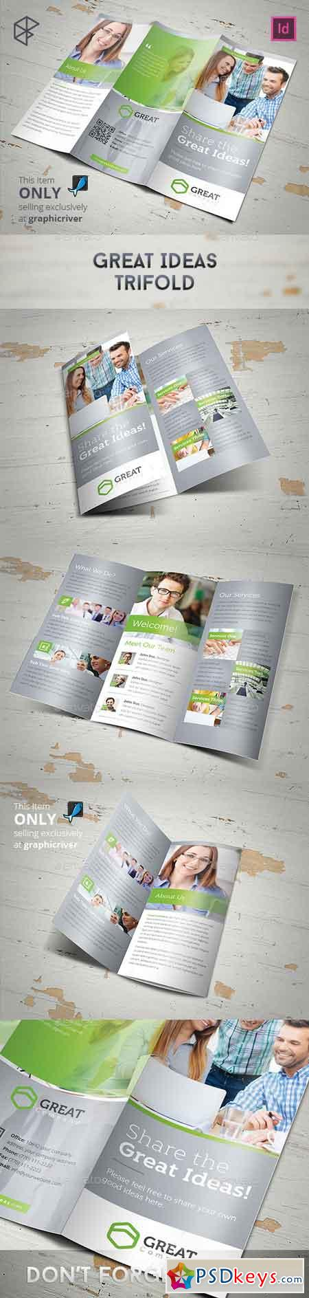 Great Ideas Trifold 11101200