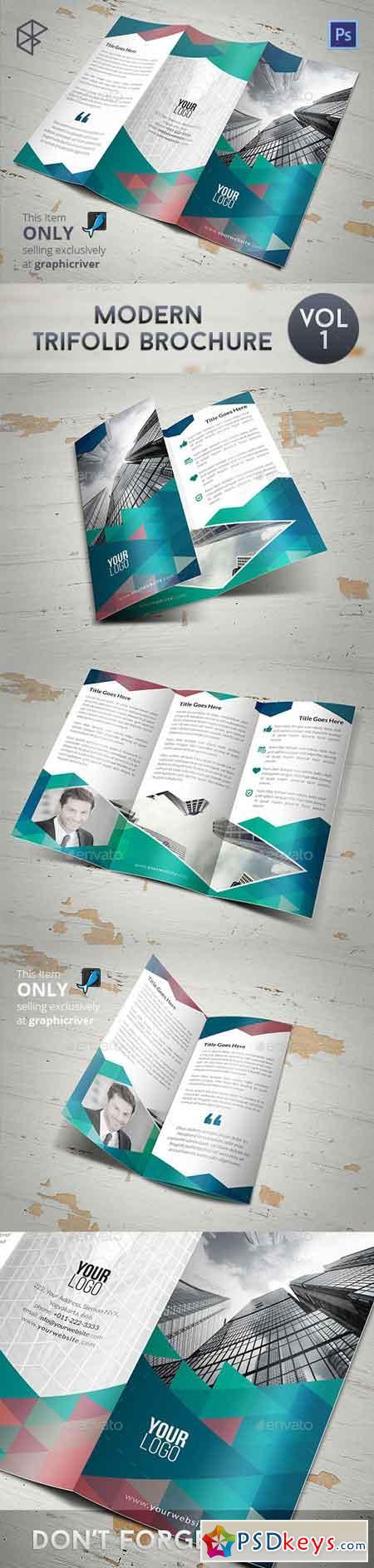 Modern Trifold Brochure 7893680