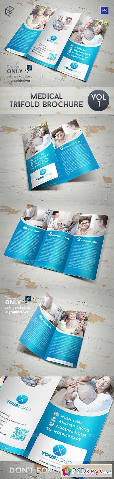 Medical Tri-fold Brochure 7828729