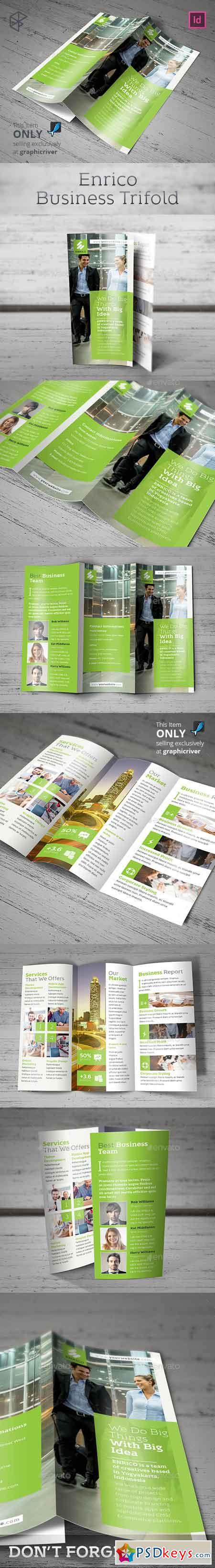 Enrico Business Trifold 13302864
