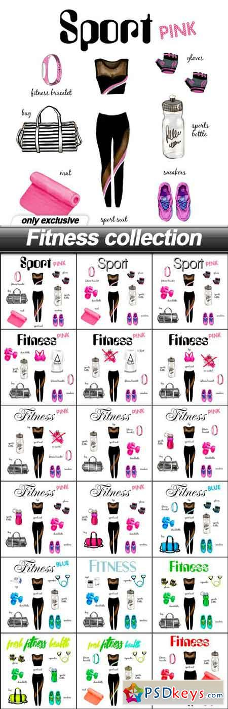 Fitness collection - 18 UHQ JPEG