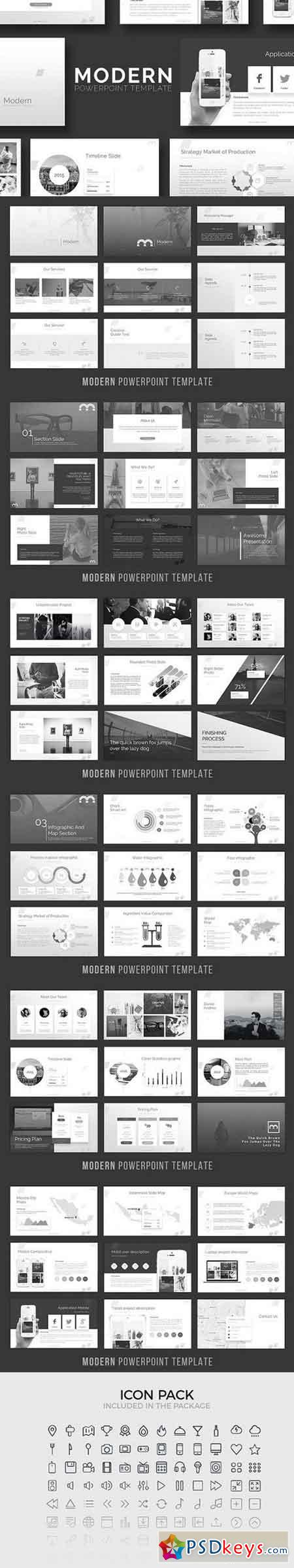 Modern - Powerpoint Template 1351449