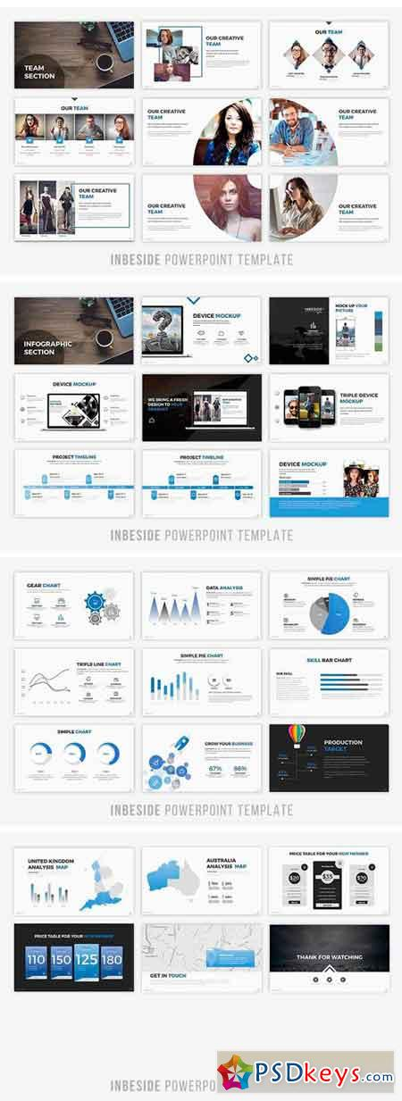 Inbeside Powerpoint Template 1341853