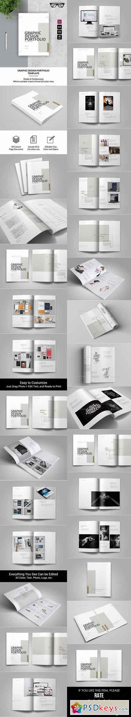 Generous Pdf Portfolio Template Photos - Entry Level Resume ...