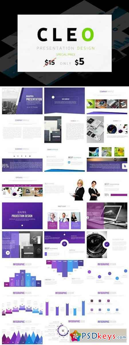 CLEO - Powerpoint Templates 1330202