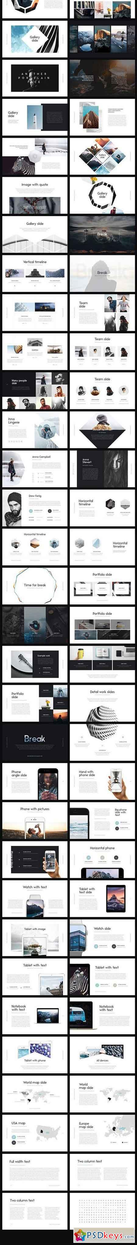 Oreol Keynote Template + GIFTS 1353511