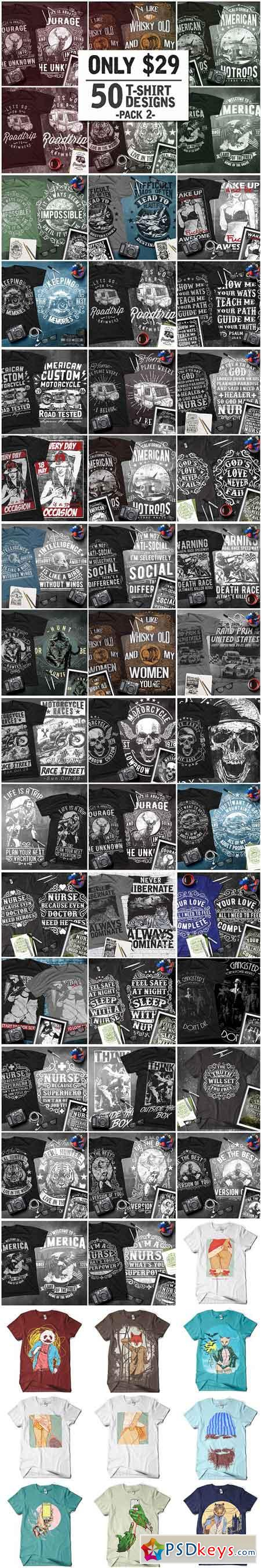 T-Shirt Design Collection Pack 2 1324580