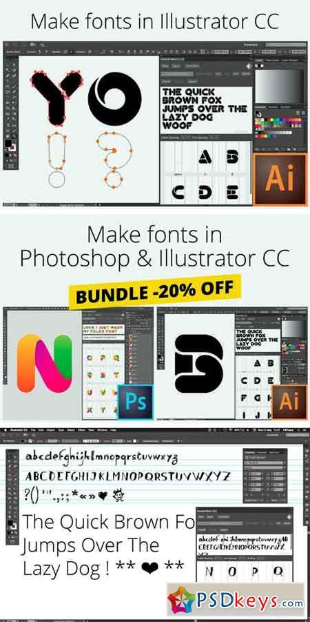 Fontself Make fonts in Illustrator 761404 » Free Download Photoshop