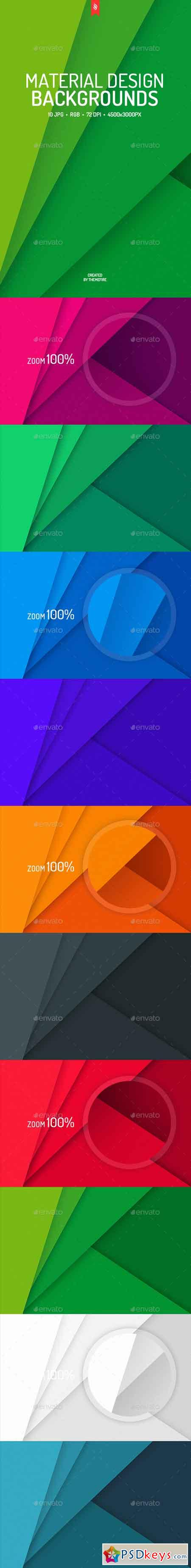 Flat Material Design Backgrounds 19214381
