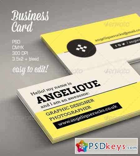 Modern Business Card 6307857