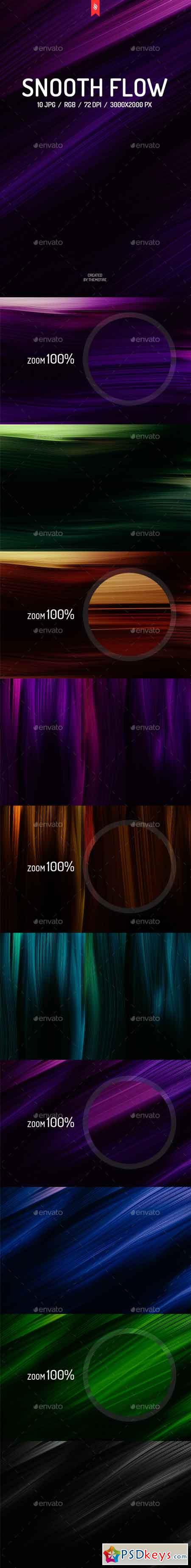 Smooth Flow Backgrounds 13950436