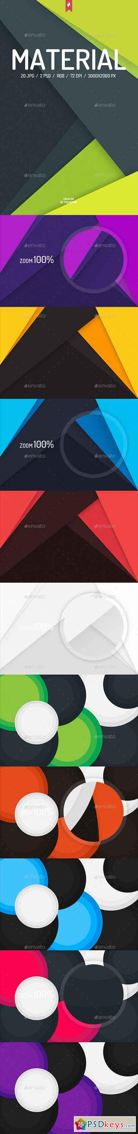 20 Material Design Backgrounds 13745604