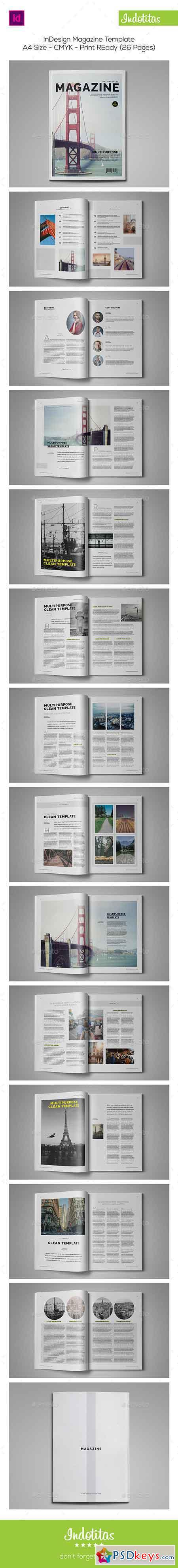free indesign magazine templates - indesign magazine template 9365672 free download