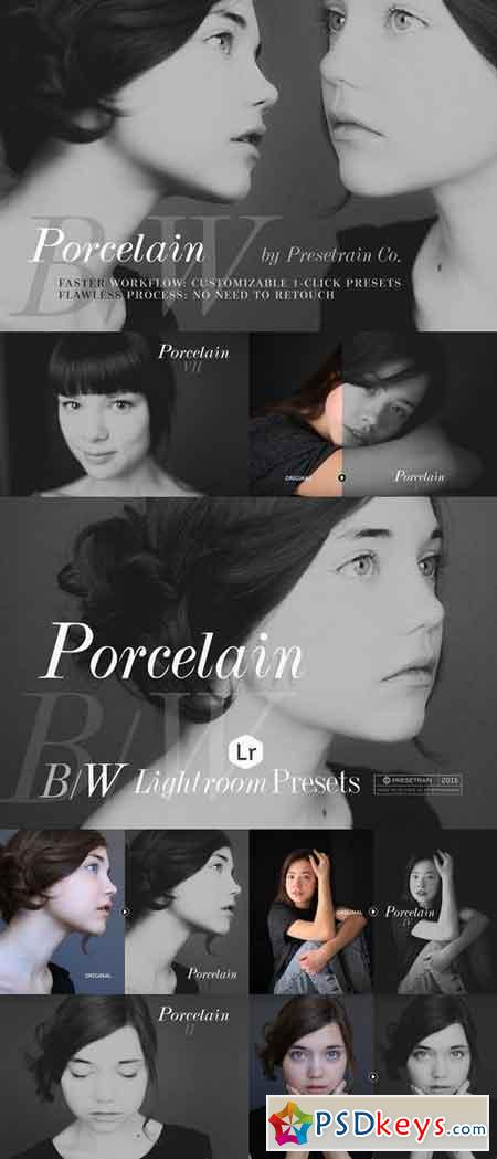 Porcelain B&W Lightroom Presets 715466