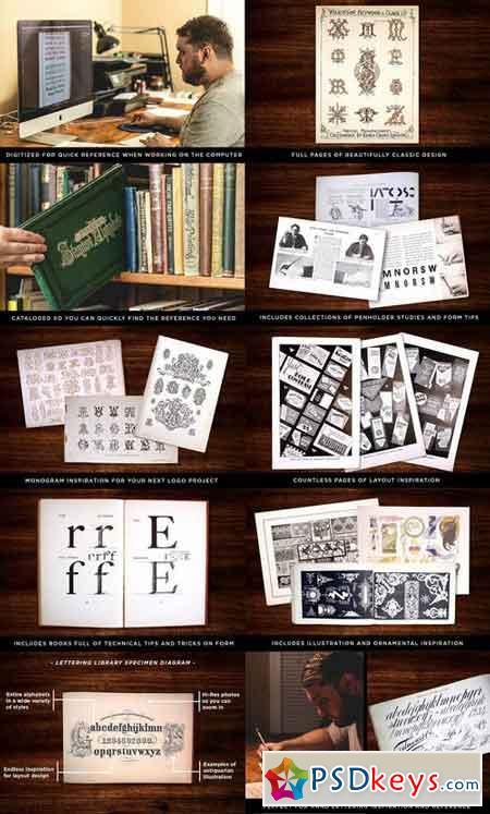 Lettering Library Mega Bundle $197 1134104