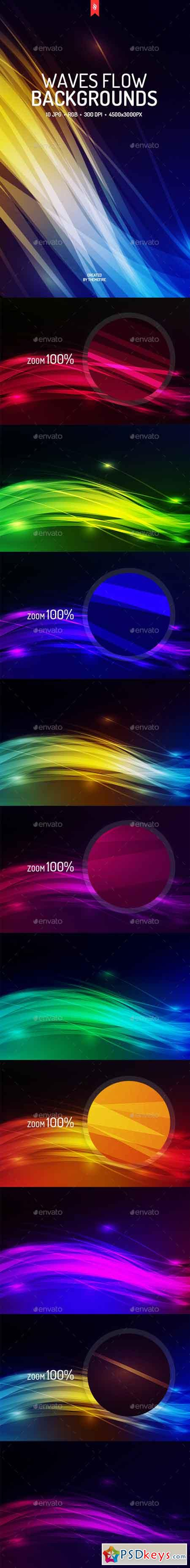 Abstract Waves Flow Backgrounds 19197323