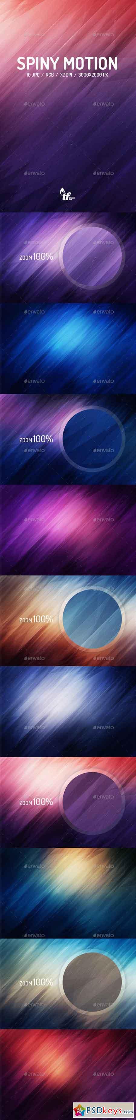 Spiny Motion Background 8794473