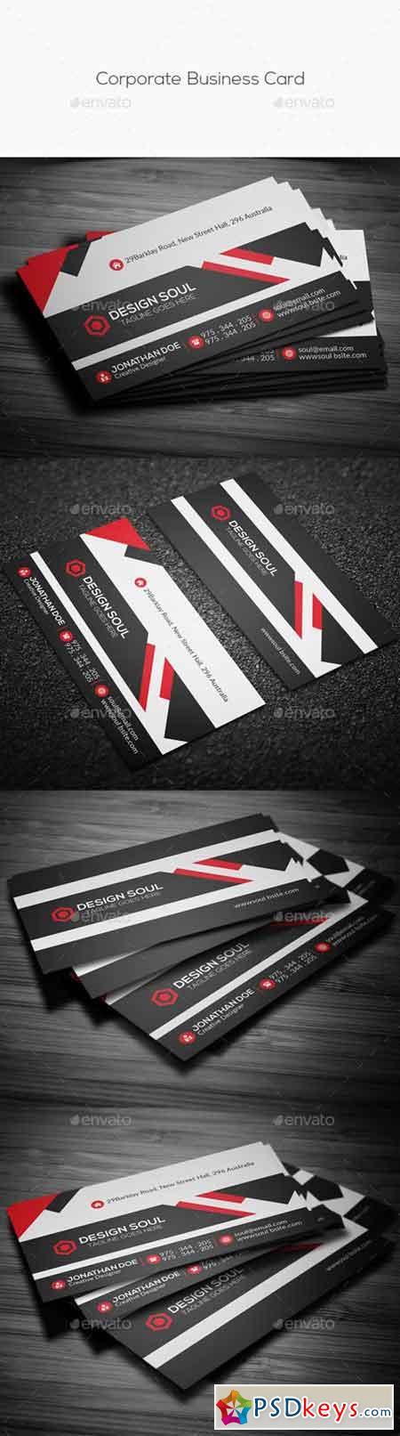 Corporate Business Card 14315028