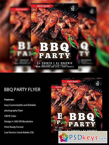 BBQ Party Flyer 1382326