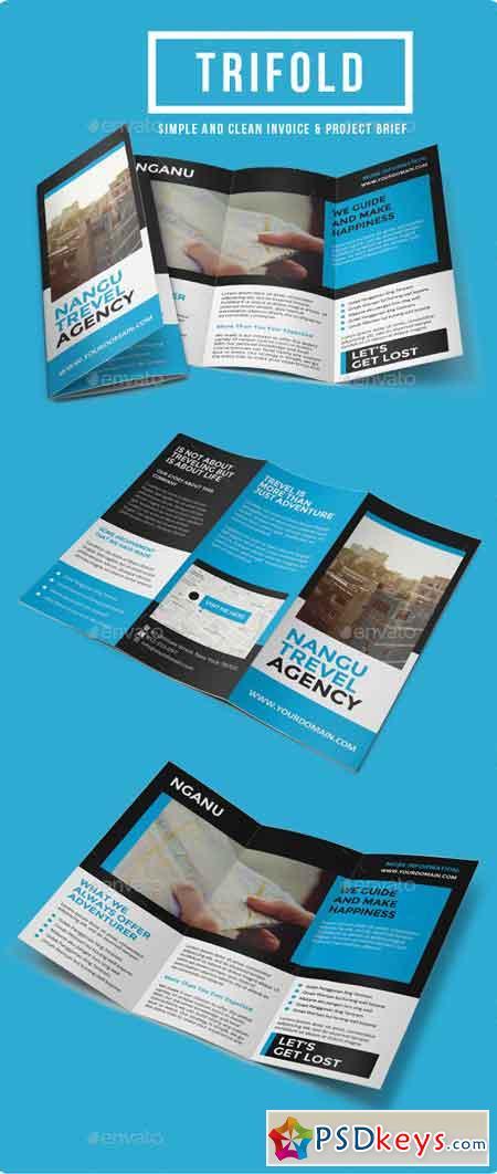 Multipurpose Trifold Brochure Vol. 6 9766867