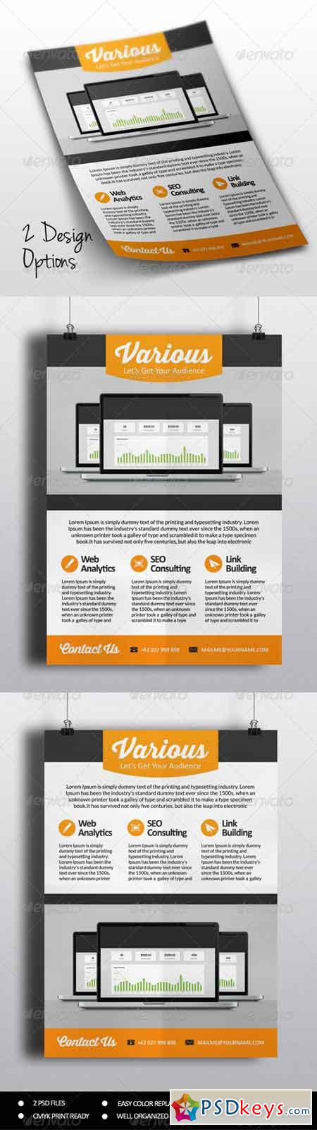 SEO Marketing Flyer Vol.2 8035976