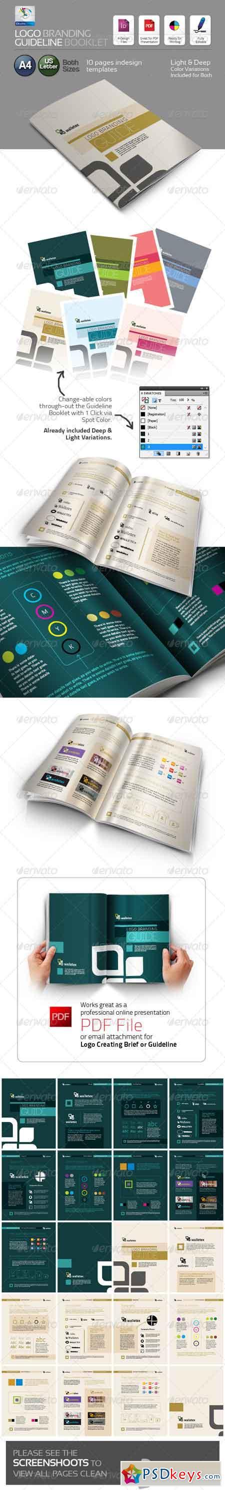Logo Branding Guideline Booklet 4463466