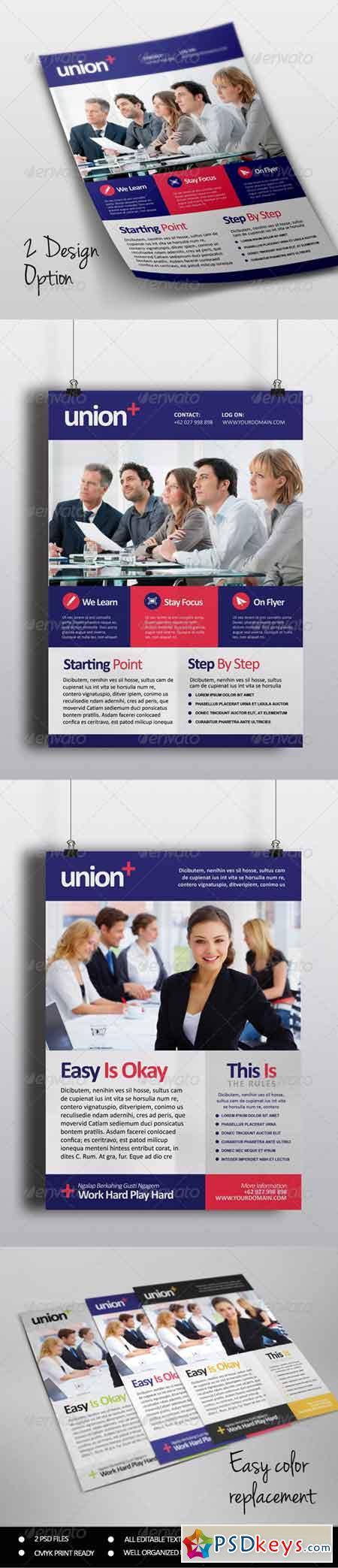 Union - Multipurpose Flyer Template 7137529